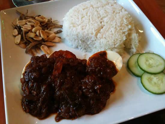Kammadhenu - the best restaurant in Newtown, Sydney - Nasi Lemak with Prawns - My fave
