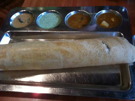 Kammadhenu - the best restaurant in Newtown, Sydney - Dosai Masala - Alison's Favourite