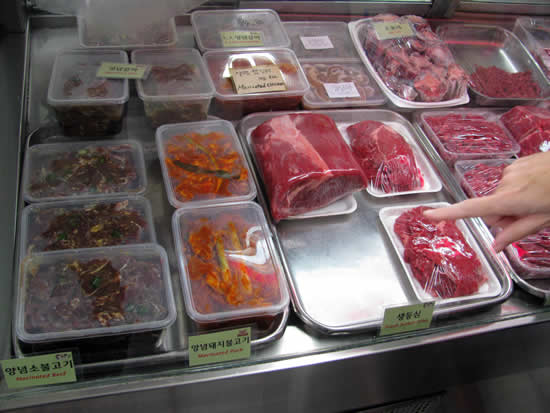 Central Korean Butcher