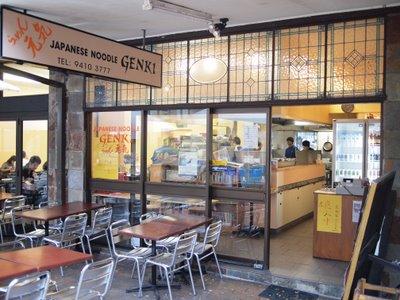 Genki Japanese Noodle Bar Artarmon Sydney Australia