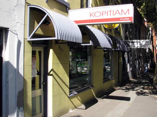 Kopitiam Cafe Malaysian Ultimo Sydney