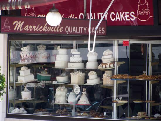 Marrickville Quality Cakes Greek Bakery Sydney