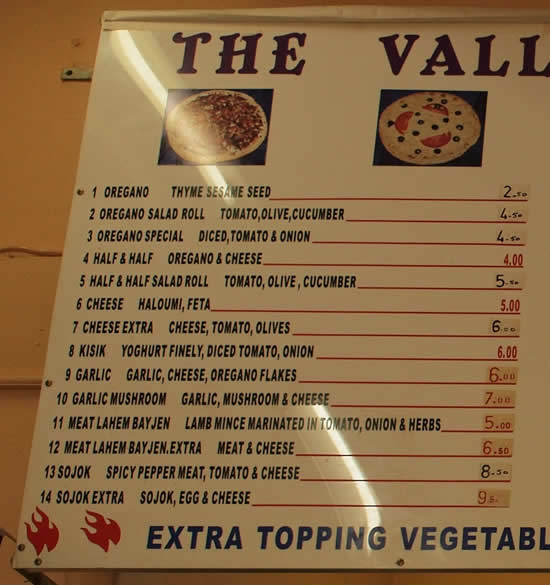 The Valley Lebanese Pizza & Bakery Dulwich Hill Sydney