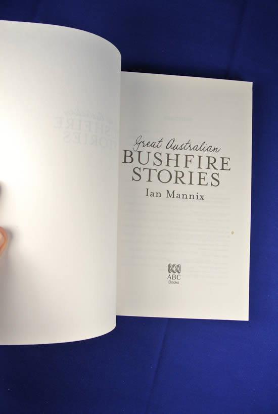GREAT-AUSTRALIAN-BUSHFIRE-STORIES-Ian-Mannix-BOOK-Bush-Fire-Fighting-History thumbnail 3